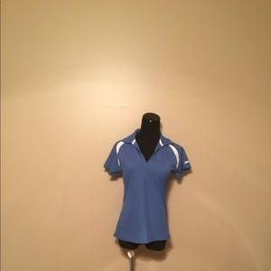 Slazenger Blue Zip Up Polo